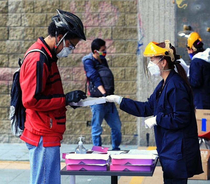 U. Distrital, primera en apoyo a estudiantes en el país