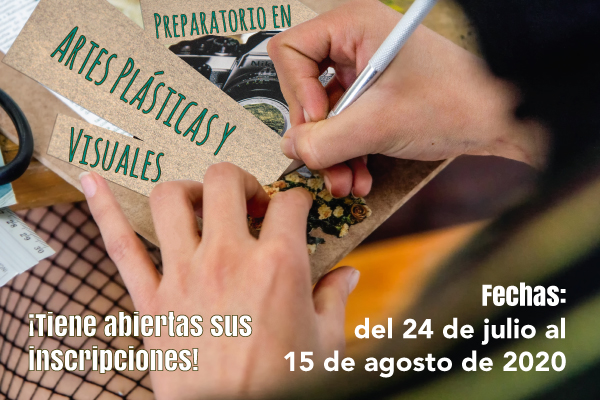 Inscripciones abiertas para el Preparatorio de Artes Plásticas y Visuales