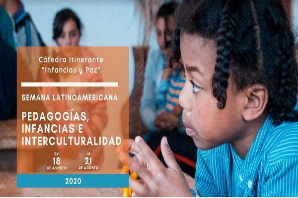 Participa en la Semana Latinoamericana Pedagogías, Infancias e Interculturalidad