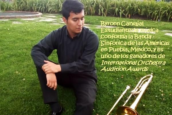 Imagen noticia: Estudiante de música gana concursos internacionales