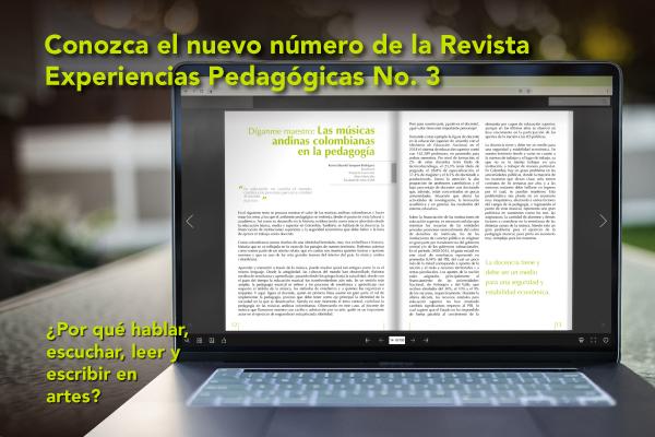 Imagen noticia: Conozcan el nuevo número de la Revista Experiencias Pedagógicas