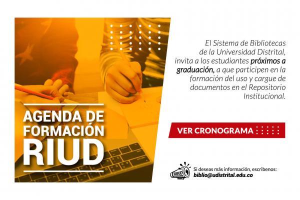 Capacitación Proceso de Carga de Trabajos de Grado Plataforma RIUD Sistema de Bibliotecas- Facultad Tecnológica e Ingeniería