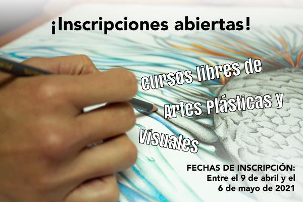 Imagen noticia: Inscripciones abiertas para los 12 cursos libres en artes plásticas y visuales ¡Participa!