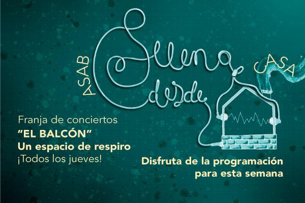 Participa todos los jueves de los conciertos dialogados: 'El Balcón'- Un espacio de respiro