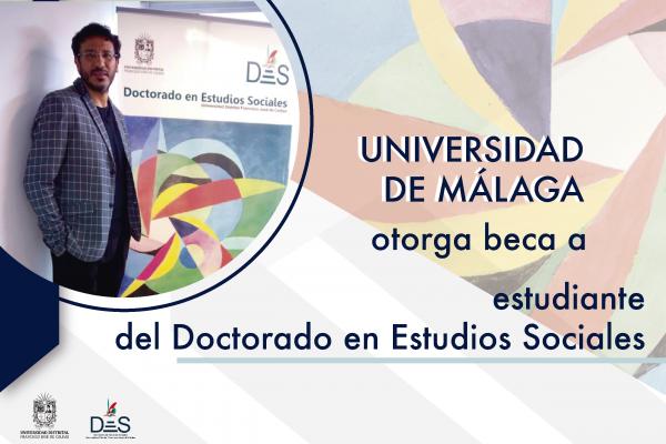 Universidad de Málaga otorga beca a estudiante del DES