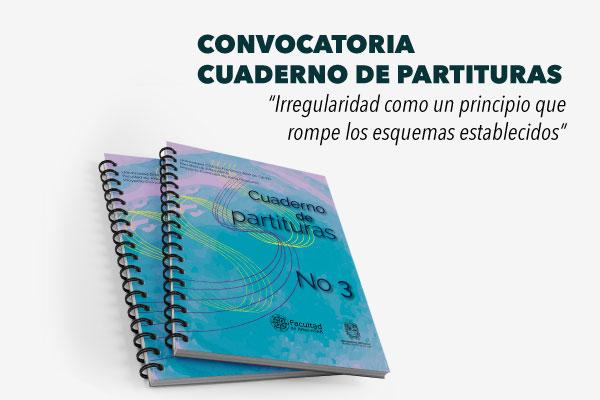 Se suspende cronograma de la convocatoria Cuaderno de Partituras