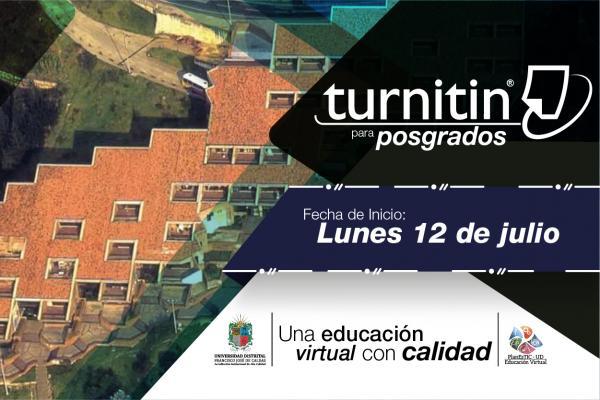 Agéndate y participa en el taller de Turnitin