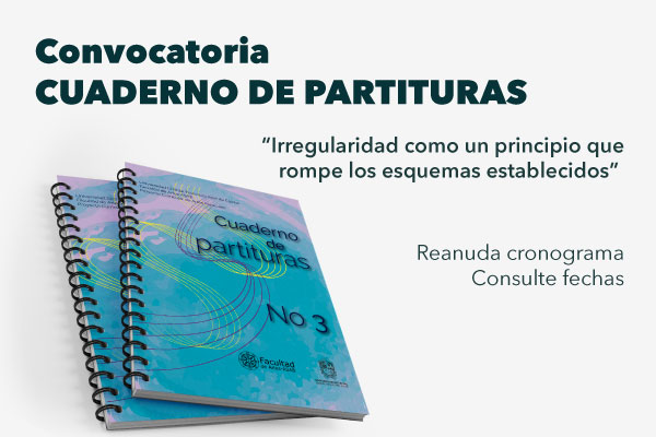 Convocatoria Cuaderno de Partituras reanuda cronograma