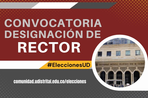 Convocatoria designación de rector en propiedad de la UD