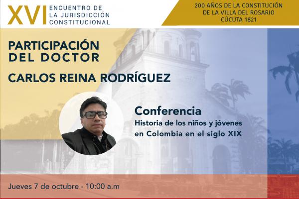 Director de la línea de Memoria del DES participará en el XVI Encuentro de la Jurisdicción Constitucional