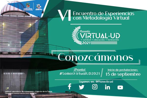 ¡Postúlate ahora en Virtual-UD 2021!