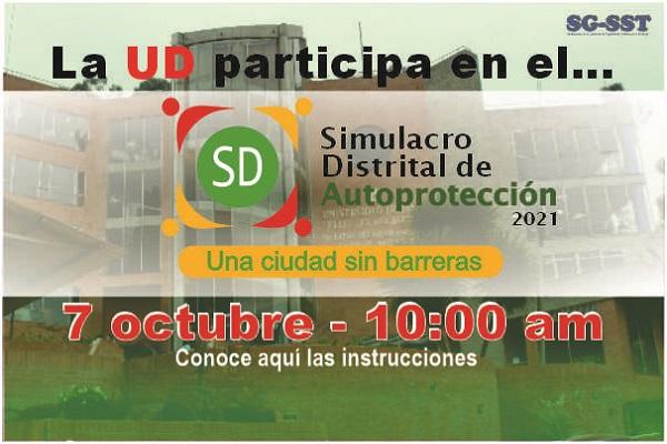 ¿Estás listo para el Simulacro Distrital de Autoprotección? ¡Participa!