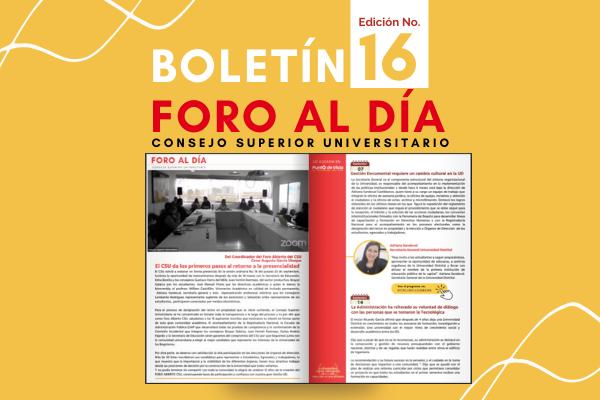 Nuevo portal web y última edición de  Foro al Día del CSU