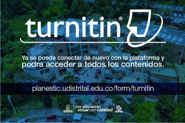 ¡Turnitin está disponible ahora!