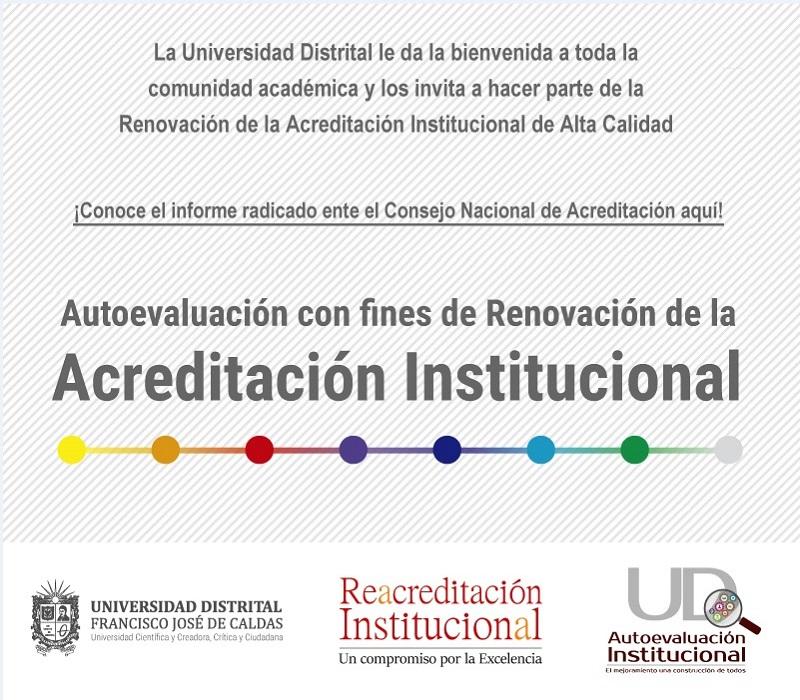 ¡Conoce el informe de autoevaluación con fines de renovación de la Acreditación Institucional!