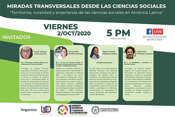 Imagen evento Amplía tus conocimientos sobre territorios, ruralidad y ciencias sociales en América Latina
