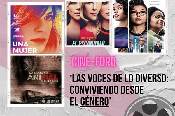 Imagen evento Inicia campaña de género con el cine foro 'Las voces de lo diverso: conviviendo desde el género'