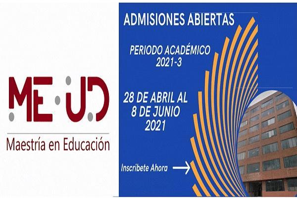Imagen evento Hasta el 8 de junio, inscripciones abiertas para la Maestría en Educación