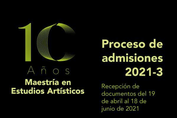 Imagen evento Ingresa a la Maestría en Estudios Artísticos ¡Inscripciones abiertas!