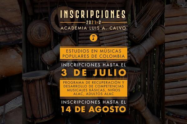 Imagen evento ALAC abre sus inscripciones 2021-3 Música para todas las edades
