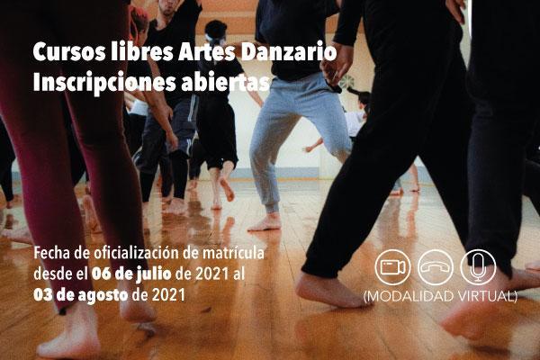 Imagen evento Inscríbete a los cursos libres de danza para este 2021-3