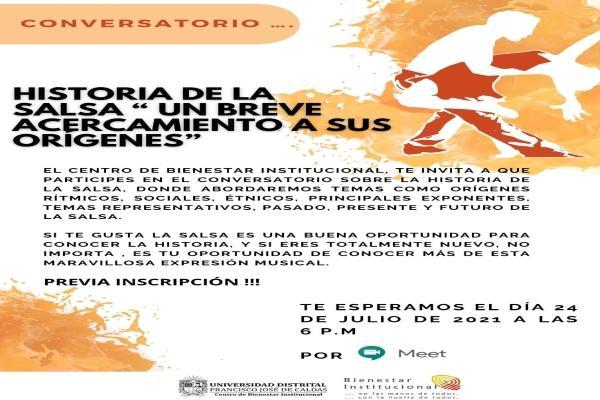 Imagen evento Participa en el gran conversatorio de la salsa