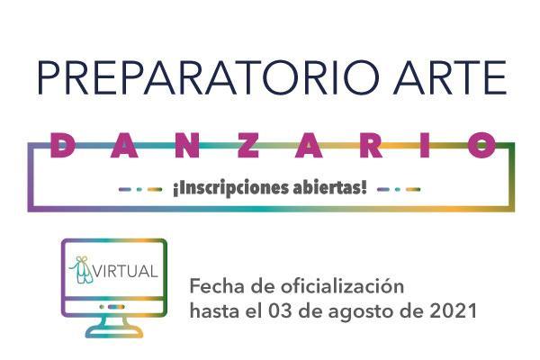 Imagen evento Abrimos Preparatorio Arte Danzario – Inscripciones abiertas 2021-3