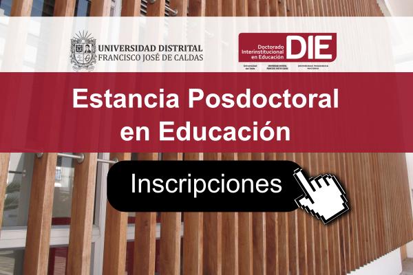 Imagen evento ¿Sabes qué es y cómo hacer la Estancia Posdoctoral en Educación?