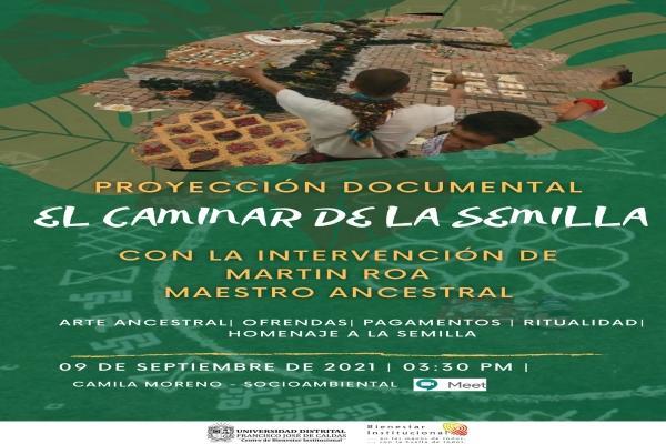 Imagen evento Únete a la proyección del documental 'El caminar de la semilla'