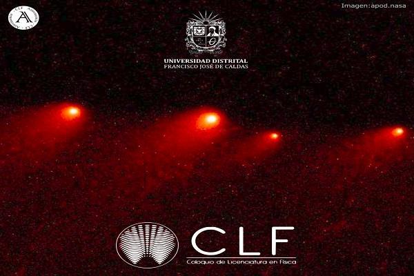 Imagen evento Evolución Dinámica de los Cometas Cuasi Hildas, en el Coloquio de Licenciatura en Física