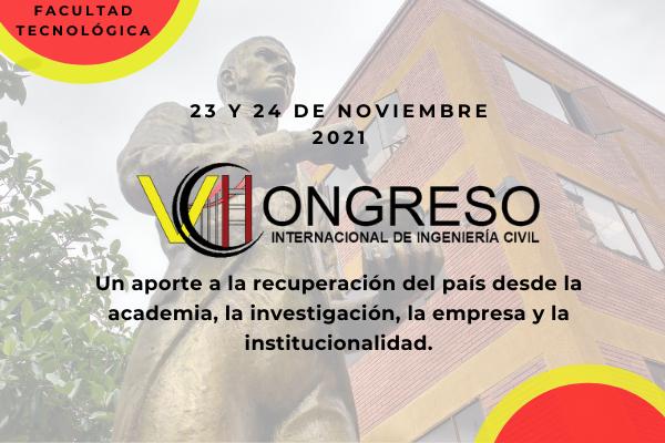 Imagen evento Prepárate para el VII Congreso Internacional de Ingeniería Civil