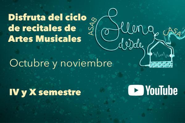 Imagen evento Disfruta de un nuevo ciclo de recitales Artes Musicales 2021