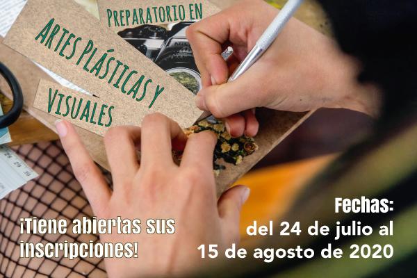 Imagen noticia: Inscripciones abiertas para el Preparatorio de Artes Plásticas y Visuales
