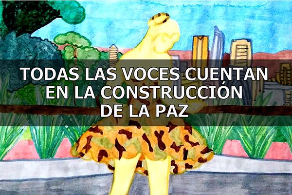 Imagen noticia: El Módulo Apoya continúa su campaña 'Todas las voces cuentan en la construcción de la paz', ahora a través del fanzine