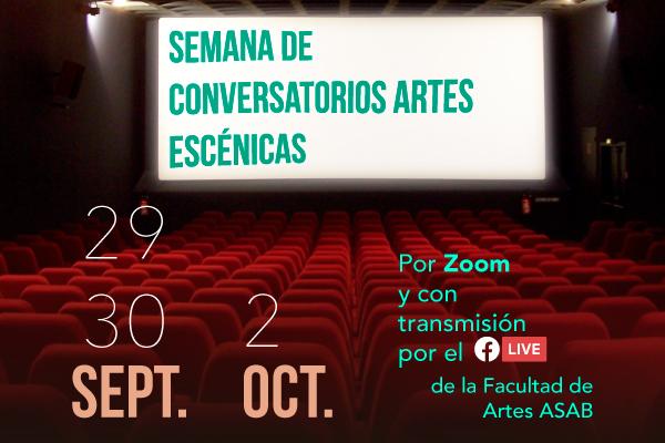 Imagen noticia: Semana de Conversatorios Artes Escénicas