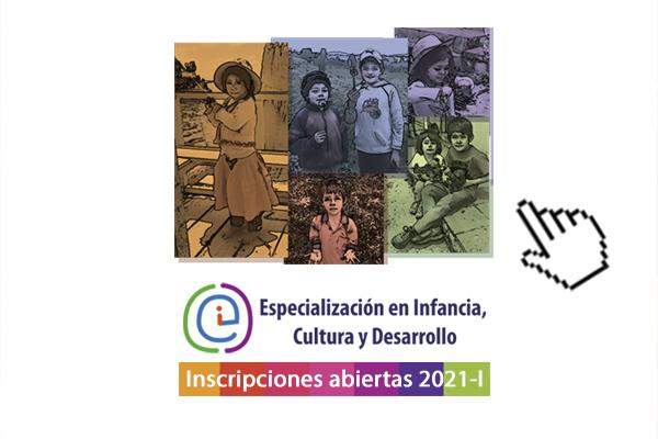 Imagen noticia: Abiertas inscripciones para la Especialización en Infancia, Cultura y Desarrollo
