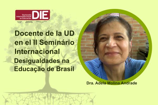 Imagen noticia: Docente de la UD en el II Seminário Internacional Desigualdades na Educação de Brasil