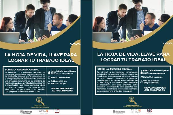 Imagen noticia: Nueva asesoría grupal del Consultorio de Empleabilidad UD