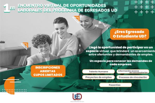 Imagen noticia: Inscripciones abiertas para participar en el 1er Encuentro Virtual de Oportunidades Laborales