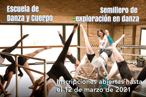 Imagen noticia: Inscripciones abiertas para la Escuela de Danza y Cuerpo