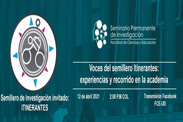 Imagen noticia: Semillero Itinerantes, en el Seminario Permanente de Investigación