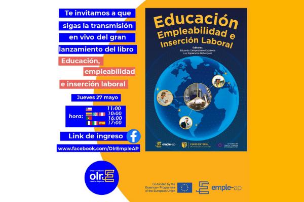 Imagen noticia: Lanzamiento Libro Emple-AP Educación, Empleabilidad e Inserción Laboral