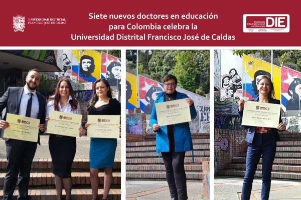Imagen noticia: Siete nuevos doctores en Educación para Colombia celebra la Universidad Distrital