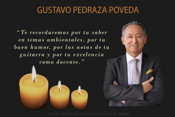 Imagen noticia: U. Distrital lamenta el fallecimiento del docente Gustavo Pedraza Poveda