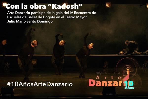 Imagen noticia: La obra de danza Kadosh, invitada especial del IV Encuentro de Escuelas de Ballet de Bogotá