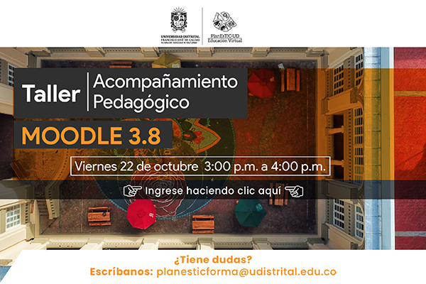 Imagen noticia: Acompañamiento en Moodle 3.8 para profesores y profesoras