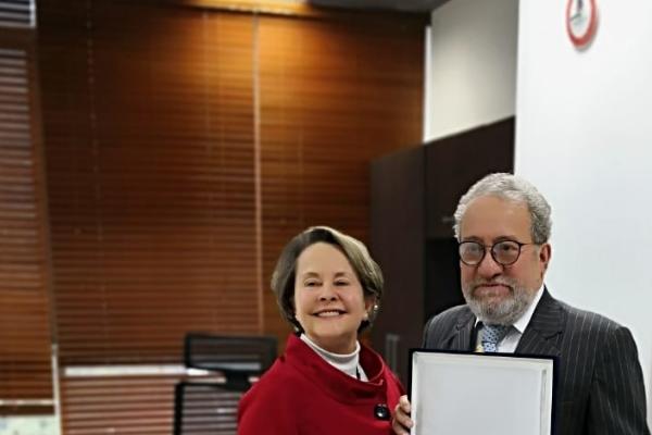 Imagen publicación: FODESEP hace reconocimiento especial a la Universidad Distrital