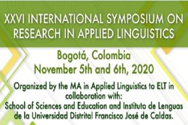 Imagen publicación: XXVI International Symposium on Research in Applied Linguistics