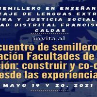 Imagen evento Inscríbete y participa en el I Encuentro de Semilleros de Investigación Facultades de Ciencias y Educación