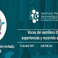 Imagen evento Semillero Itinerantes, en el Seminario Permanente de Investigación
